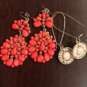 Jcrew two earring bundle